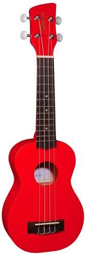 Brunswick BU1S Soprano Ukulele Red