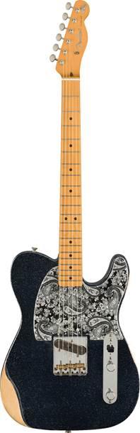 Fender Brad Paisley Esquire Black Sparkle MN