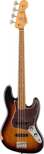 Fender Vintera 60th Anniversary Road Worn 60s Jazz Bass 3 Tone Sunburst Pau Ferro Fingerboard