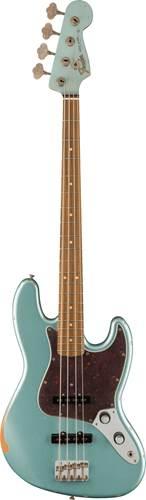 Fender Vintera 60th Anniversary Road Worn 60s Jazz Bass Firemist Silver Pau Ferro Fingerboard