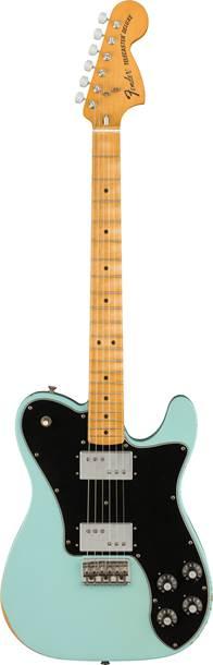 Fender Vintera Road Worn 70s Telecaster Deluxe Daphne Blue Maple Fingerboard