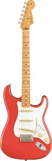 Fender Vintera Road Worn 50s Stratocaster Fiesta Red