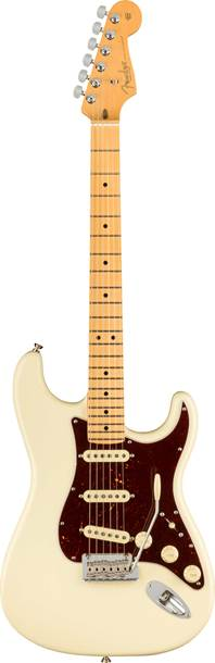Fender American Professional II Stratocaster Olympic White Maple Fingerboard