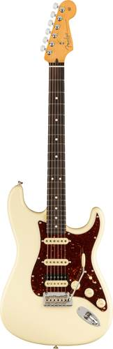 Fender American Professional II Stratocaster HSS Olympic White Rosewood Fingerboard