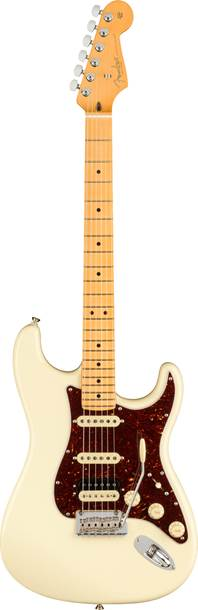 Fender American Professional II Stratocaster HSS Olympic White Maple Fingerboard