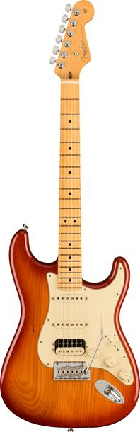Fender American Professional II Stratocaster HSS Sienna Sunburst Maple Fingerboard
