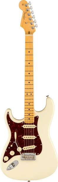 Fender American Professional II Stratocaster Olympic White Maple Fingerboard Left Handed