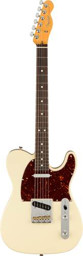 Fender American Professional II Telecaster Olympic White Rosewood Fingerboard