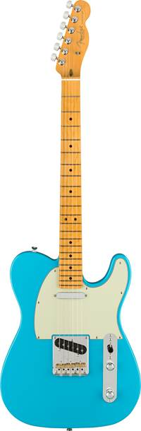 Fender American Professional II Telecaster Miami Blue Maple Fingerboard