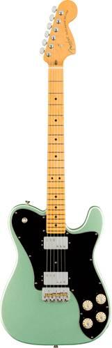 Fender American Professional II Telecaster Deluxe Mystic Surf Green Maple Fingerboard