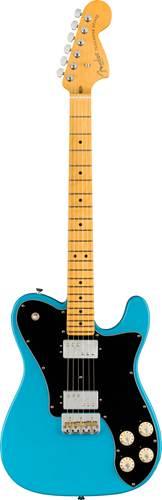 Fender American Professional II Telecaster Deluxe Miami Blue Maple Fingerboard