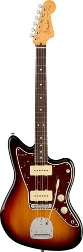 Fender American Professional II Jazzmaster 3 Tone Sunburst Rosewood Fingerboard