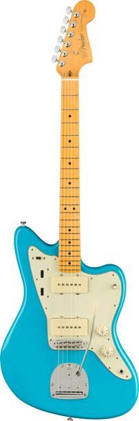 Fender American Professional II Jazzmaster Miami Blue Maple Fingerboard