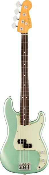 Fender American Professional II Precision Bass Mystic Surf Green Rosewood Fingerboard