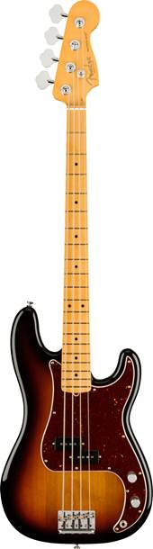 Fender American Professional II Precision Bass 3 Tone Sunburst Maple Fingerboard