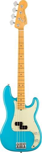 Fender American Professional II Precision Bass Miami Blue Maple Fingerboard