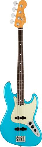 Fender American Professional II Jazz Bass Miami Blue Rosewood Fingerboard