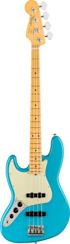 Fender American Professional II Jazz Bass Miami Blue Maple Fingerboard Left Handed