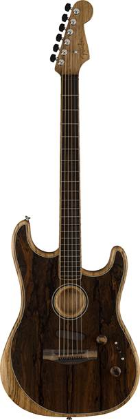 Fender Acoustasonic Stratocaster Exotic Ziricote