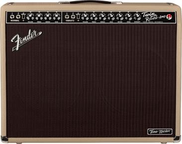 Fender Tone Master Twin Reverb Blonde 2x12 Combo Solid State Amp