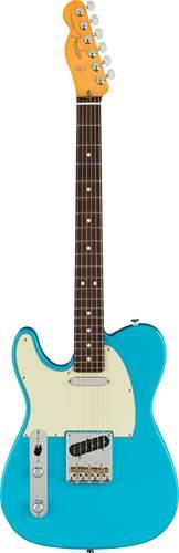 Fender American Professional II Telecaster Miami Blue Rosewood Fingerboard Left Handed