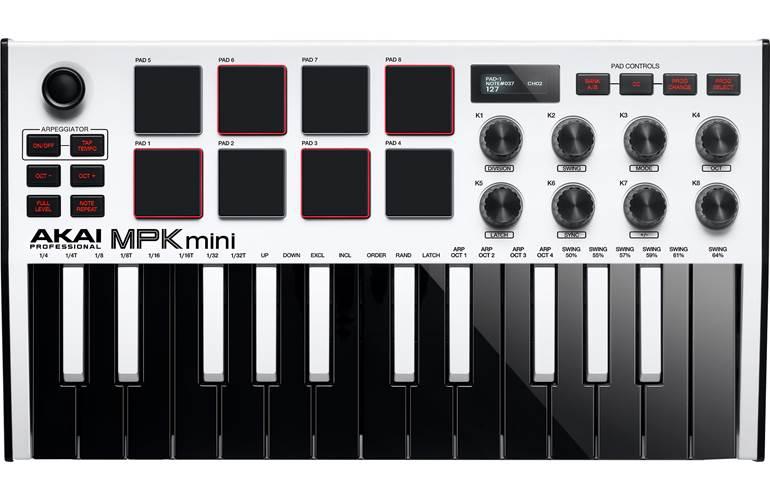 Akai Professional MPK Mini 3 White