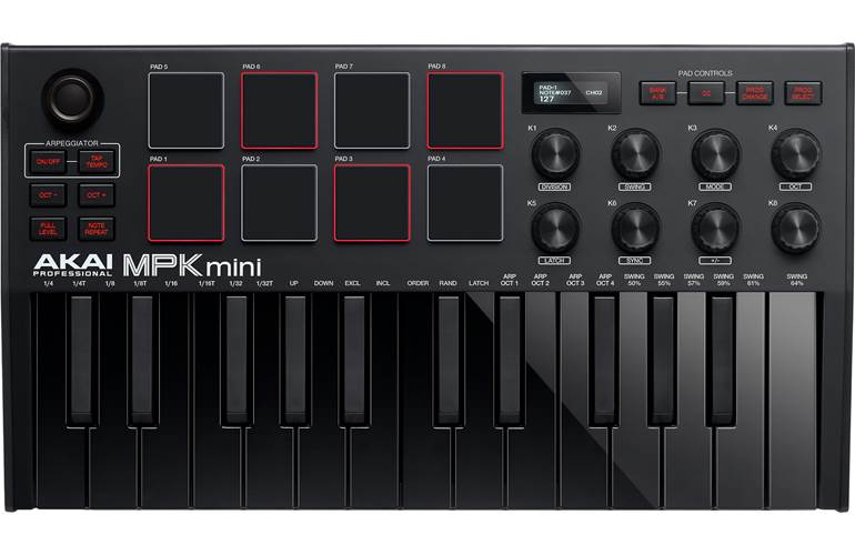 Akai Professional MPK Mini 3 Black