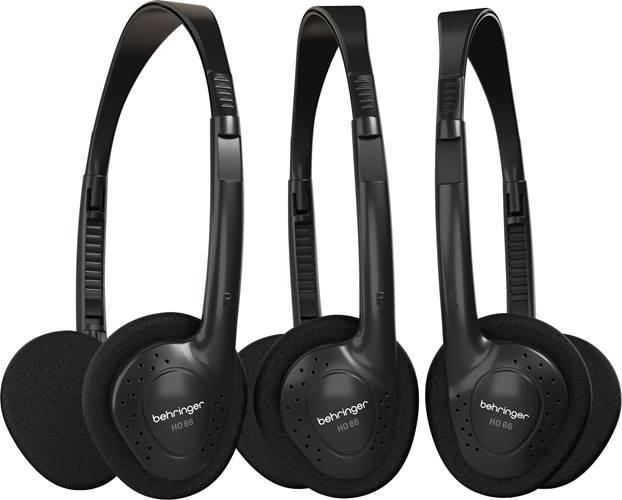 Behringer HO66 Headphones 3 Pack
