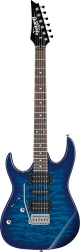 Ibanez GRX70QAL Transparent Blues Burst LH