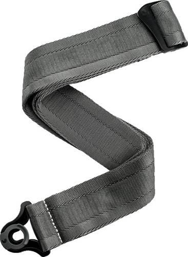 D'Addario Auto Lock Guitar Strap Metal Grey