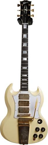 Gibson Custom Shop 67 SG Custom Jimi Hendrix Classic White Aged GM #67102