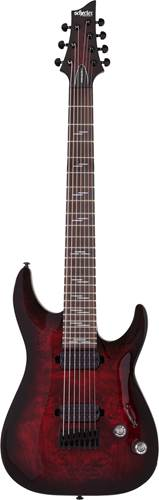 Schecter Omen Elite-7 Black Cherry Burst