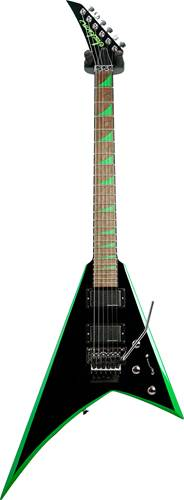 Jackson X Series RRX24 Rhoads Black with Neon Green Bevels