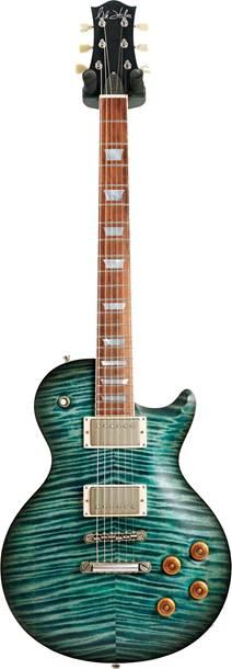 Nik Huber Orca 59 Custom Colour Turquoise Blue Burst