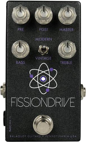 Balaguer Fission Drive Black Overdrive/Distortion