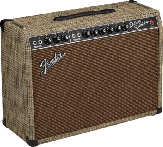 Fender Limited Edition 65 Deluxe Reverb Chilewich Bark