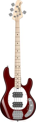Music Man Sterling Sub Ray4 HH Candy Apple Red Maple Fingerboard