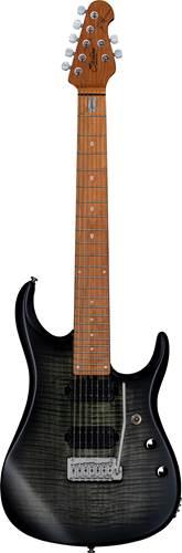 Music Man Sterling JP157 7 String Trans Black Satin Maple Neck
