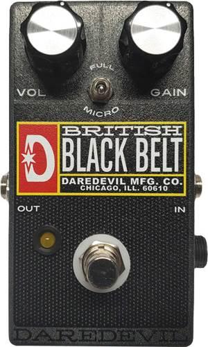 Daredevil British Black Belt Black Overdrive