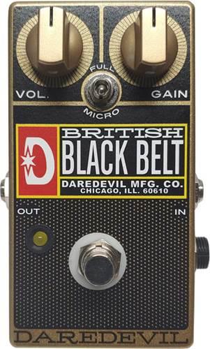 Daredevil British Black Belt Gold Overdrive