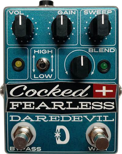 Daredevil Cocked & Fearless Distortion/Wah