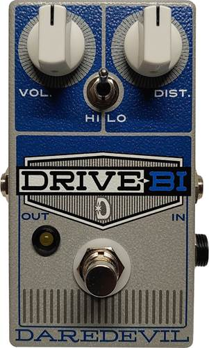 Daredevil Drive Bi Dual Channel Overdrive / Distortion