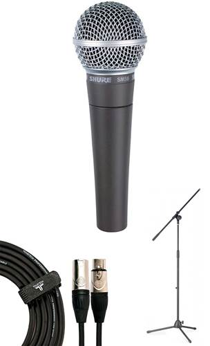Shure SM58 LCE Microphone Pack
