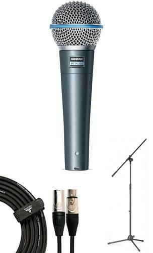 Shure Beta 58A Dynamic Microphone Pack