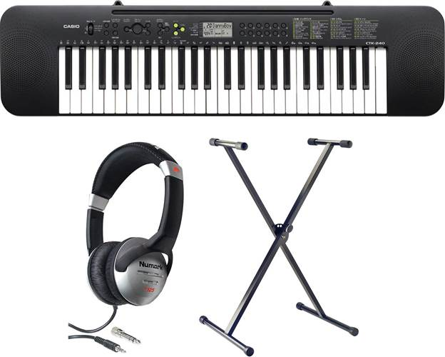 Casio CTK-240 Digital Keyboard Pack