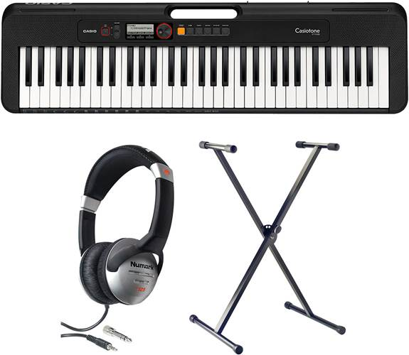 Casio CT-S200BK Digital Keyboard Pack