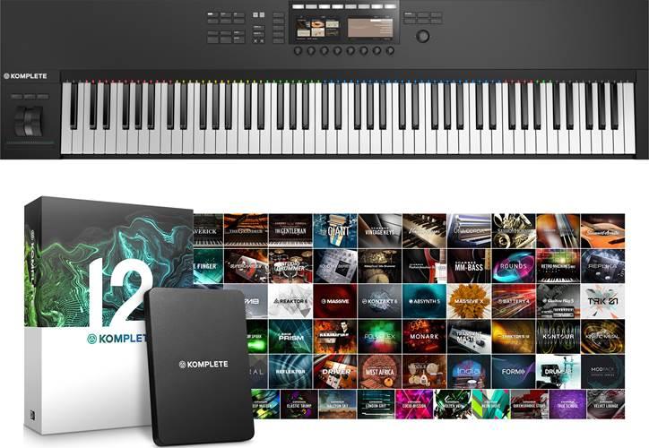 Native Instruments Komplete Kontrol S88 MK2 With Komplete 12 Bundle