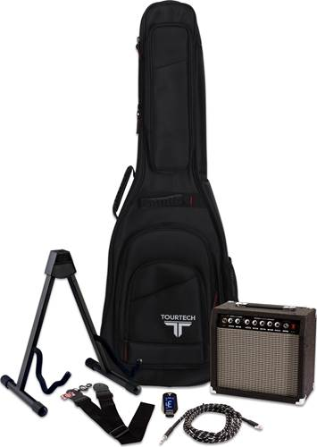 TOURTECH Complete Accessory Pack for Electric Guitar