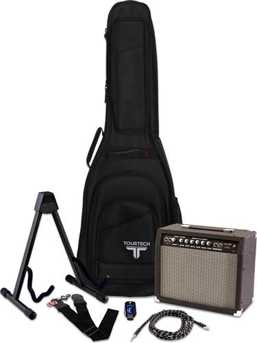 TOURTECH Ultimate Accessory Pack for Electric Guitar