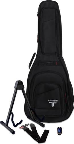 TOURTECH Complete Accessory Pack for Acoustic Guitar